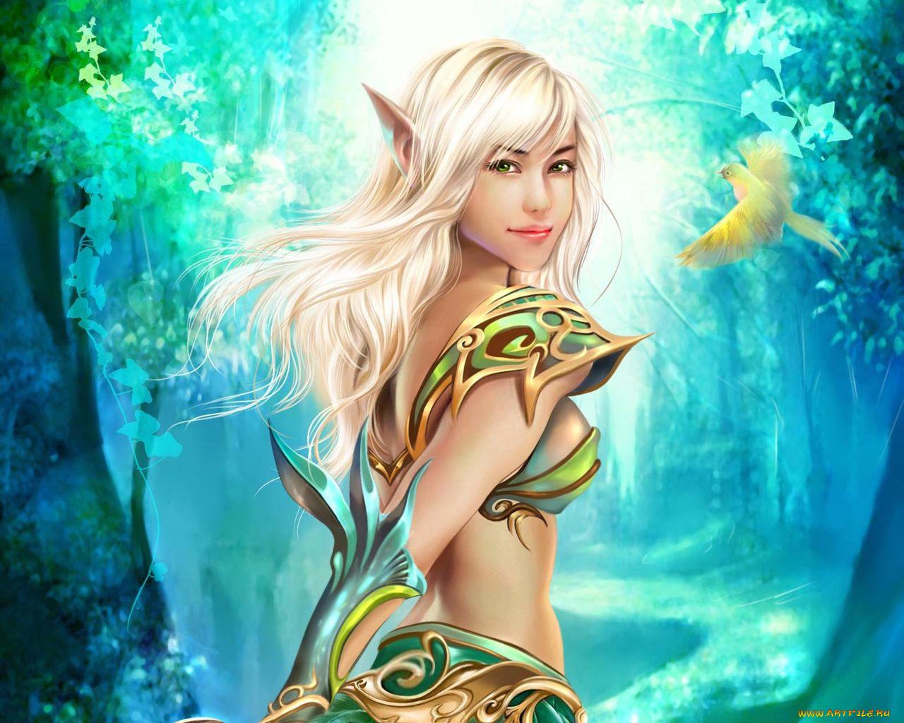 Самые красивые картинки эльфов